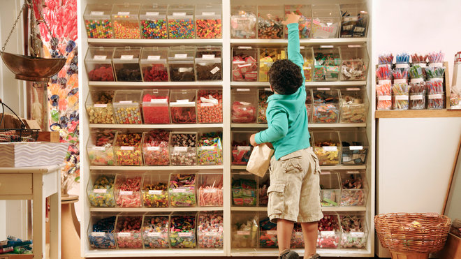 Food & Wine: Child Candy Weight