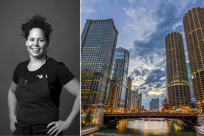 Food & Wine: Chef Stephanie Izard Explores the People and Places that Shape Her Chicago