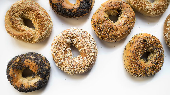 Food & Wine: Black Seed Bagels