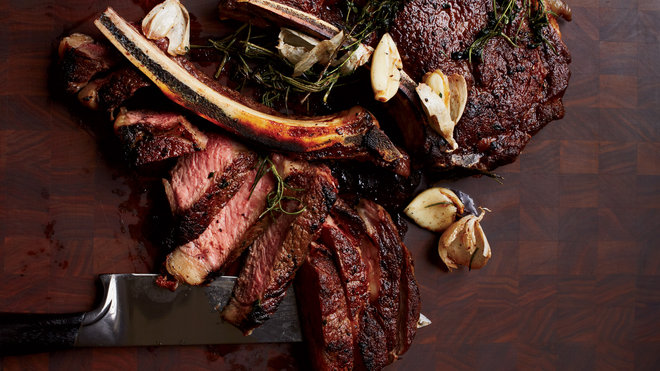 Food & Wine: Butter-Basted Rib-Eye Steak