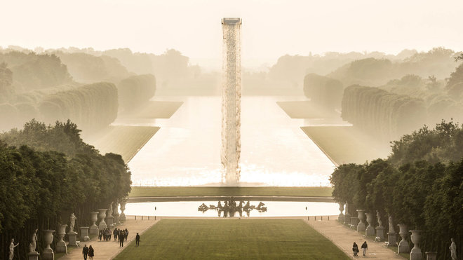 Food & Wine: Now You Can Visit a Floating Waterfall at the Palace of Versailles