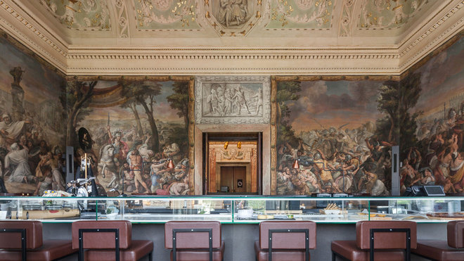 Food & Wine: Now You Can Dine in an 18th-Century Palace