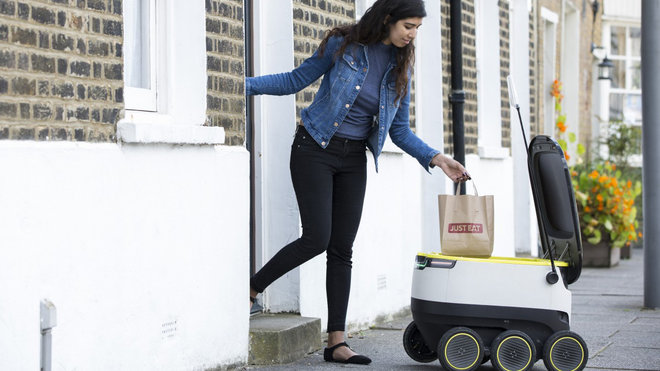 Food & Wine: Robot Food Delivery