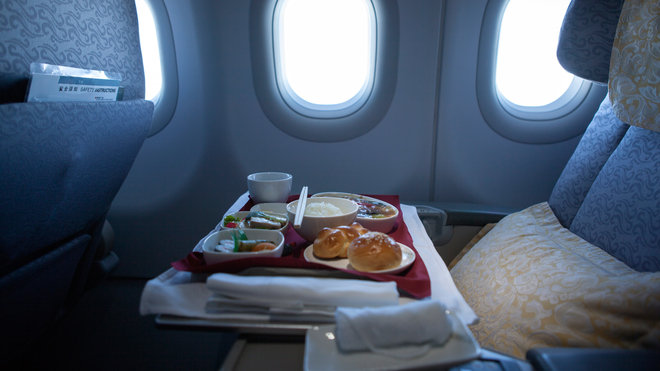 Food & Wine: Airplane Food Donations