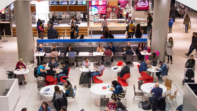 Food & Wine: Love a Mall Food Court? You're Not Alone