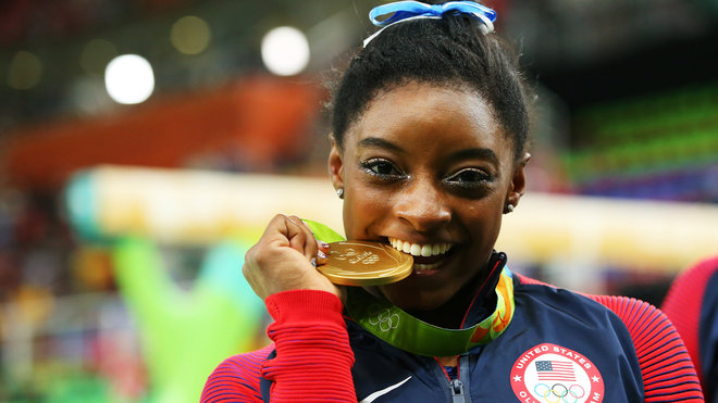 Food & Wine: Simone Biles Always Eats This Food After Competing