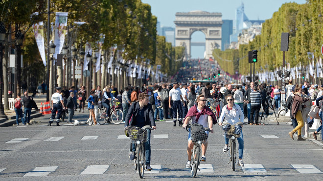 Car-Free Day in Paris