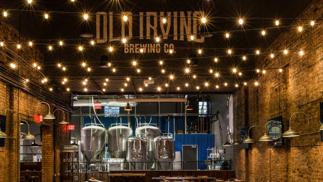 Food & Wine: Old Irving Brewing