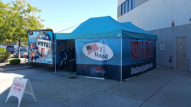 Food & Wine: Idaho Attempts to Lure Voters With Food Truck-Style Polls
