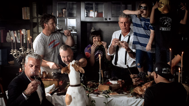 Food & Wine: Anthony Bourdain Thanksgiving Guide