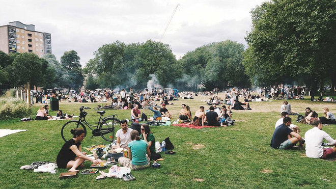 Food & Wine: three day weekend park environment
