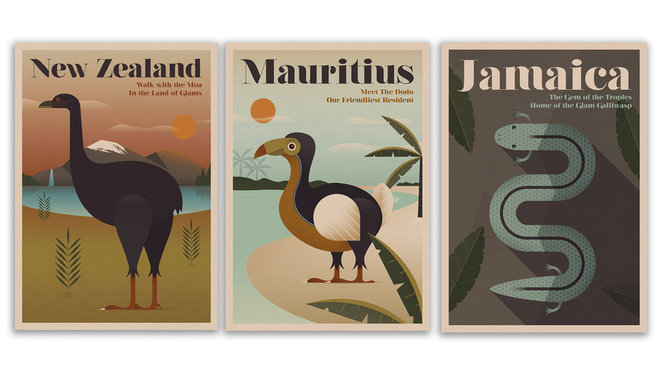 Food & Wine: expedia endangered animal travel posters