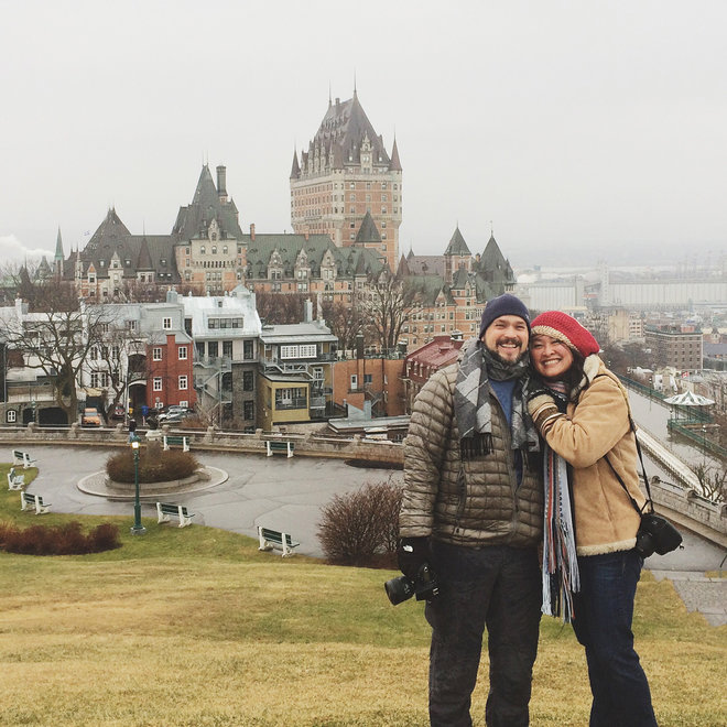 Food & Wine: White on Rice Couple in Quebec City
