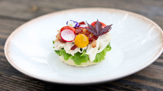 Food & Wine: Riel Restaurant Blue Crab BLT
