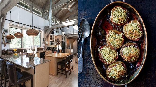 Food & Wine: A Delicious Thanksgiving Menu and The Dream Kitchens You Can Rent To Cook It In