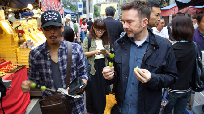 Chef Tyson Cole in Japan