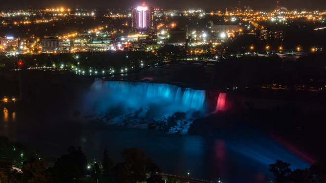 Food & Wine: Niagara Falls Is a Technicolor Dream After $4-million Upgrade