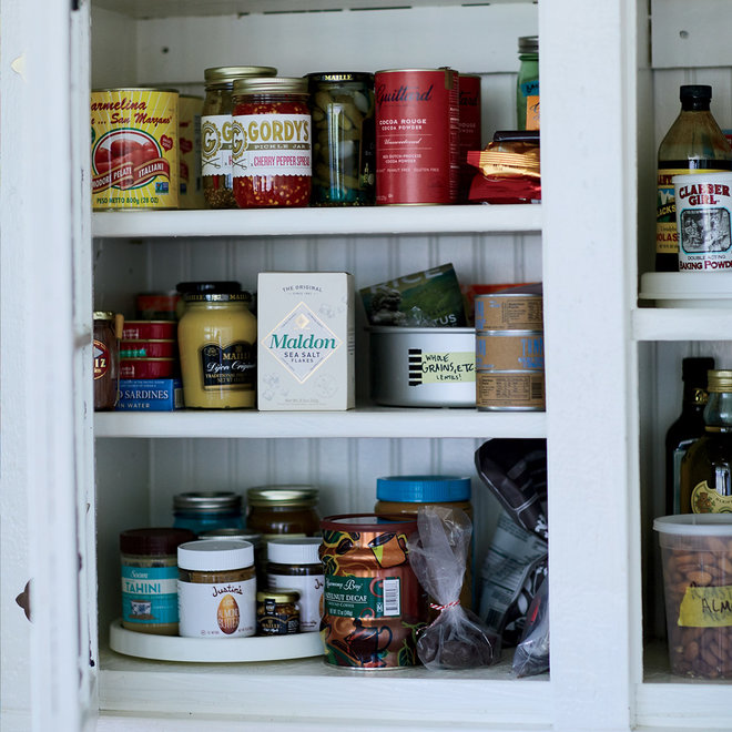 Food & Wine: Stocking a Healthy Pantry