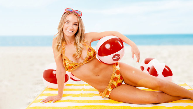 For $10K, You Can Own a Bikini Made of Pizza