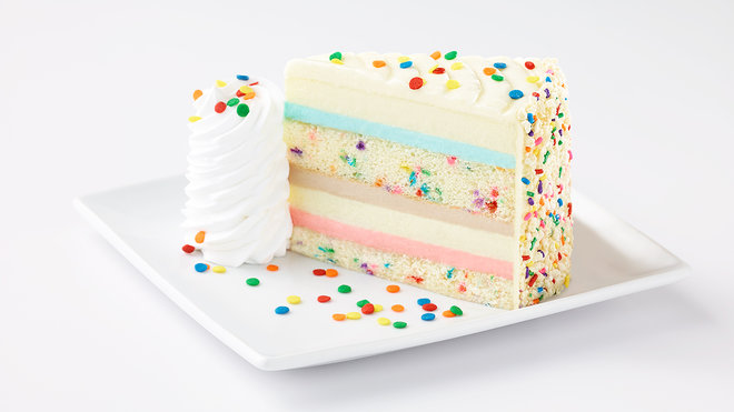 cheesecake flavored wedding cake recipe cheesecake factory adds funfetti cake as its newest flavor 12556