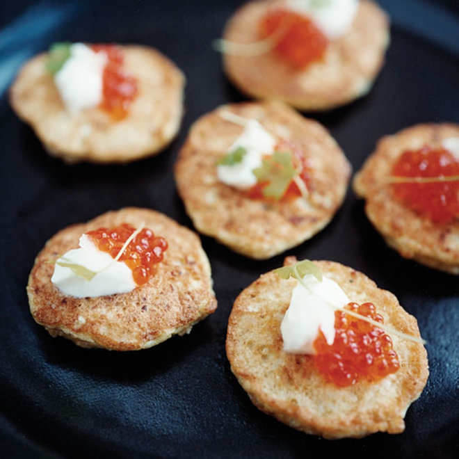 Food & Wine: Cauliflower Fritters