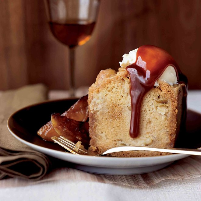 Food & Wine: Apple Cake with Toffee Crust