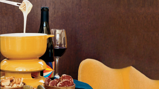 Food & Wine: Cheese Fondue