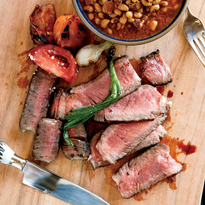 Food & Wine: Grilled Texas Ribeye