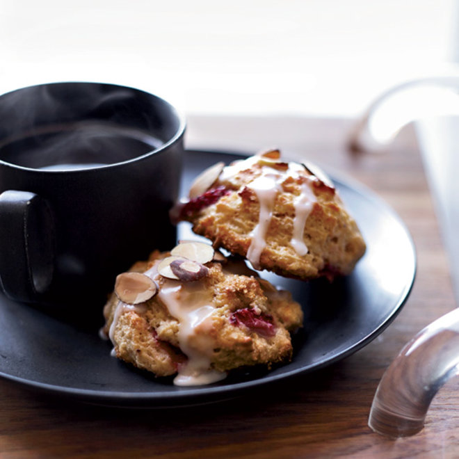 Food & Wine:  Strawberry-Almond Scones