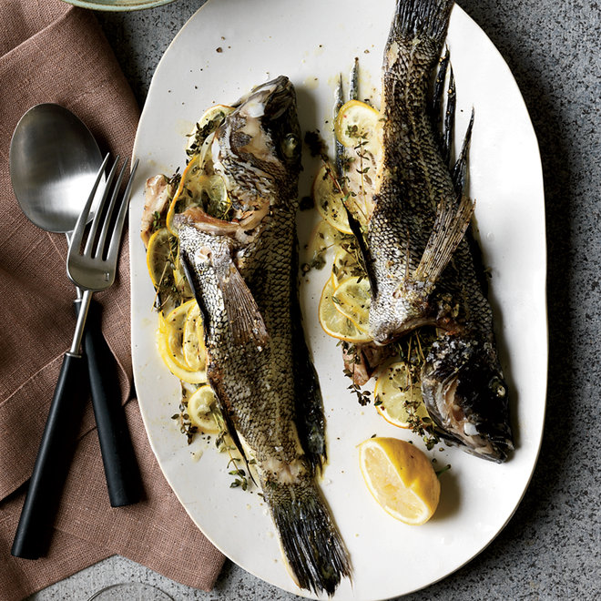 Food & Wine: How Not to Stuff a Fish