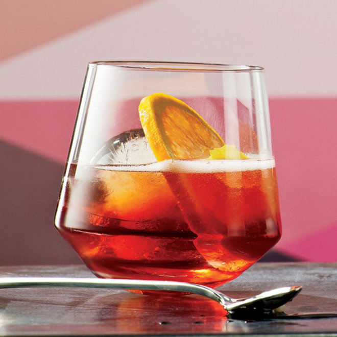 Food & Wine: Americano in a glass.