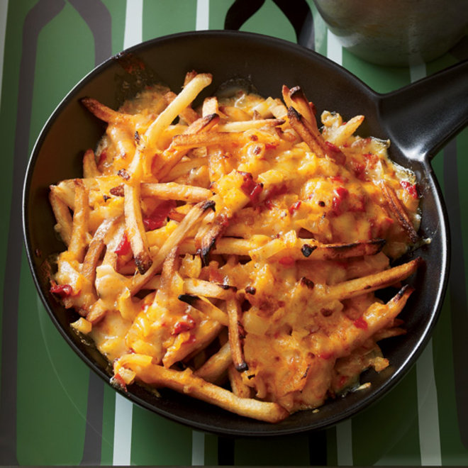 Food & Wine: Cheesy Super Bowl Recipes: Pimento Cheese Fries