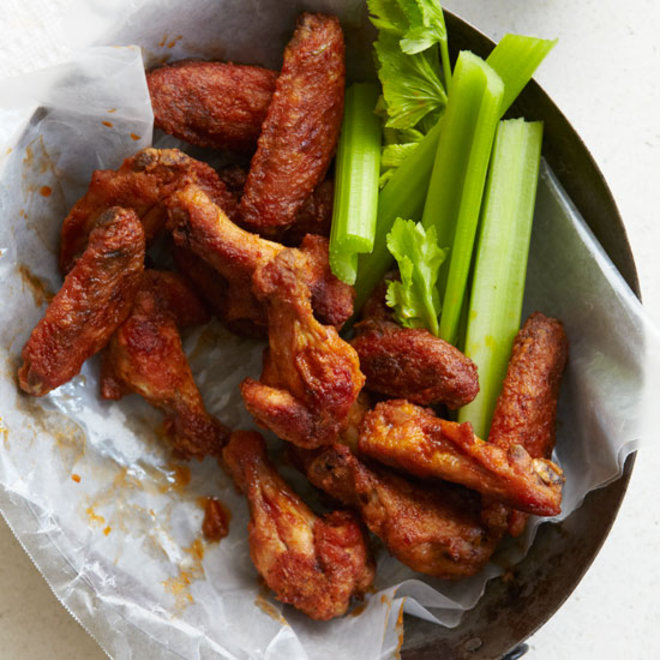 Food & Wine: Old Bay Hot Wings
