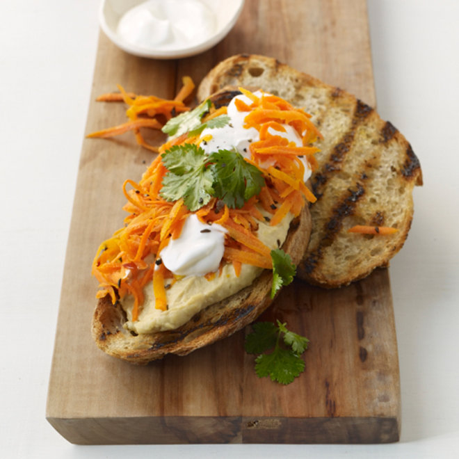 Food & Wine: Spicy Carrot Sandwiches