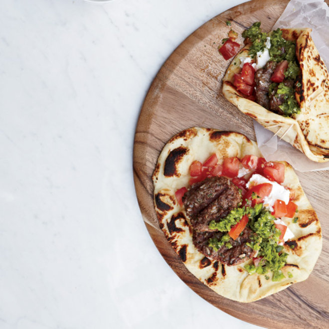Food & Wine: Lamb Burgers