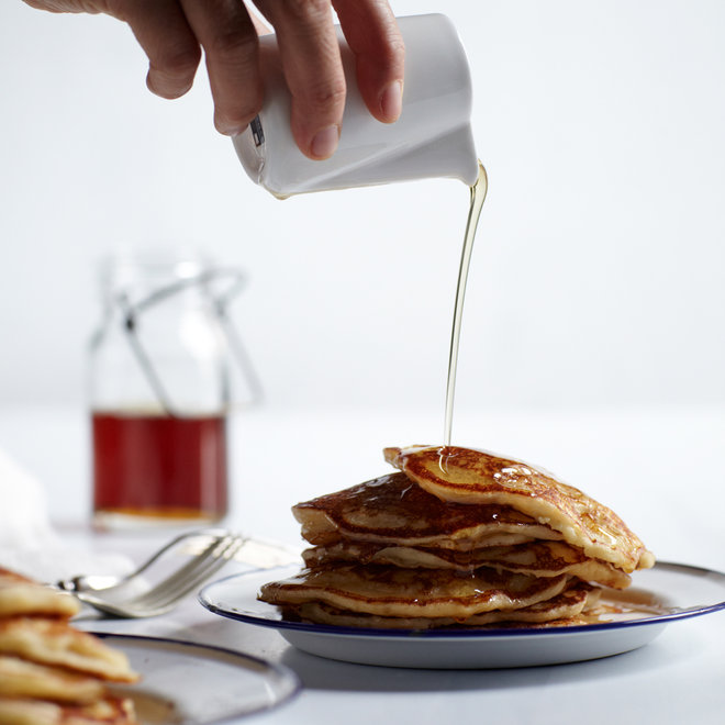 Food & Wine: Buttermilk Pancakes with Masa Harina