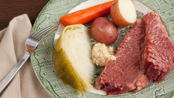 Food & Wine: Corned Beef with Cabbage