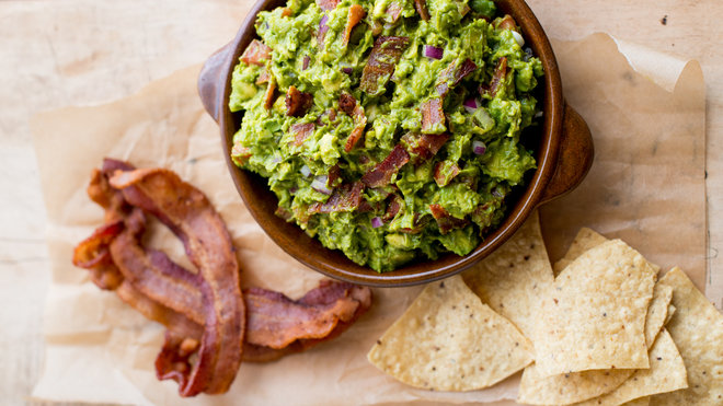 Food & Wine: Bacon Guacamole