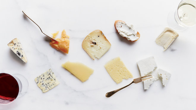 Food & Wine: Cheeses