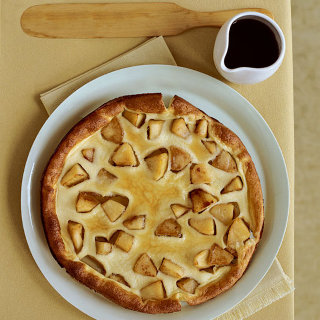 Food & Wine: souffléed apple pancakes