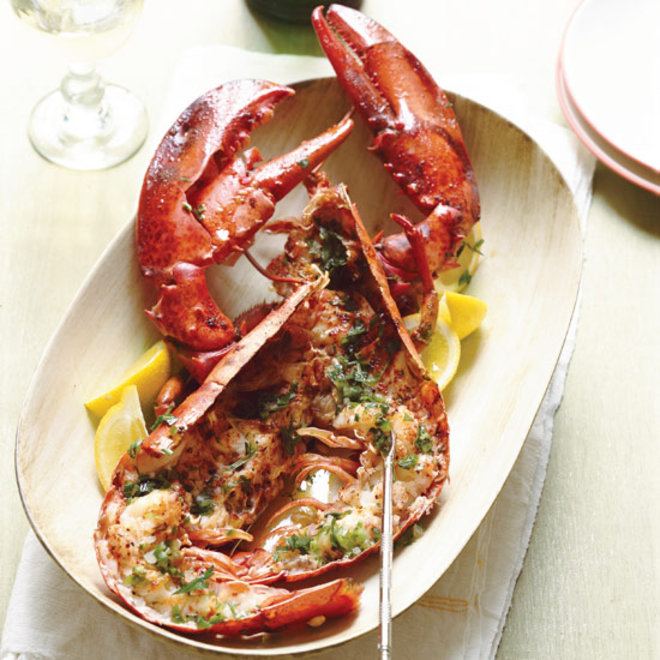 Food & Wine: Roasted Lobster