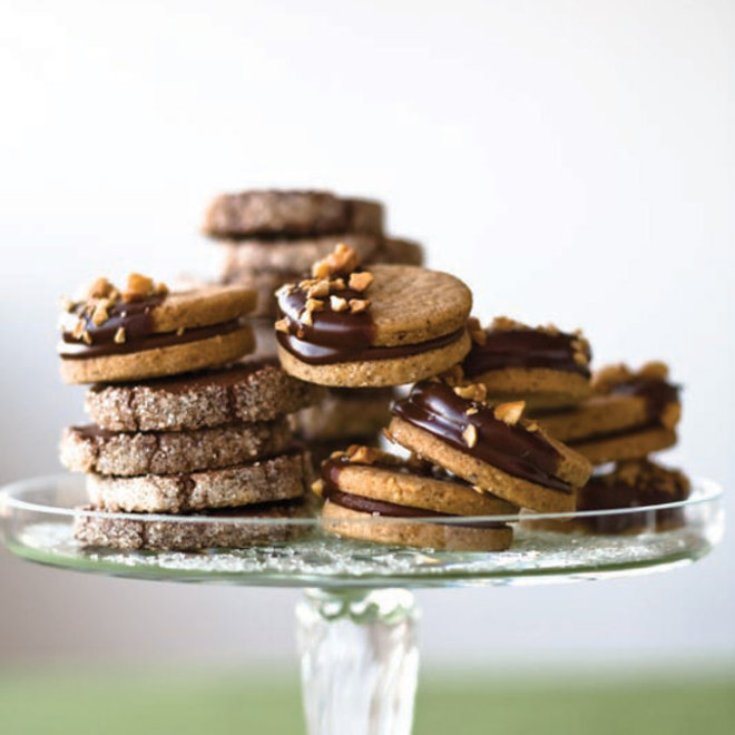 Food & Wine: Hazelnut Sandwich Cookies