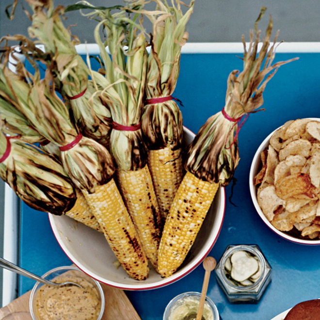 Food & Wine: Bobby Flay's Grilled Corn with Mango-Habanero Butter