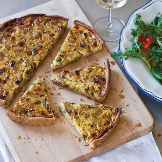 Food & Wine: Bacon-and-Leek Quiche