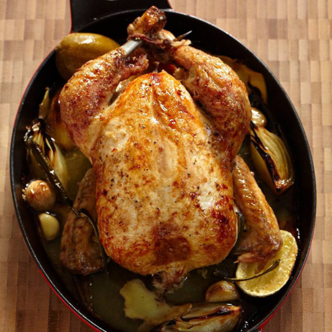 Food & Wine: Ginger-Roasted Chicken