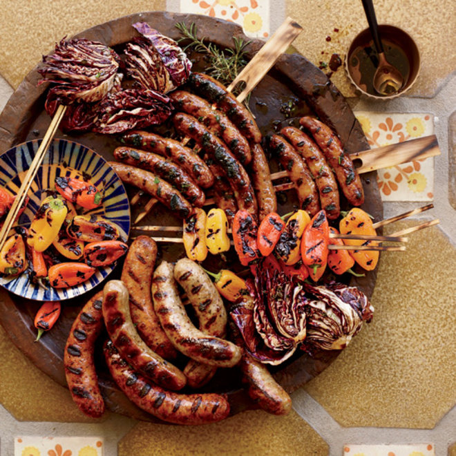 Food & Wine: Sausage mixed grill