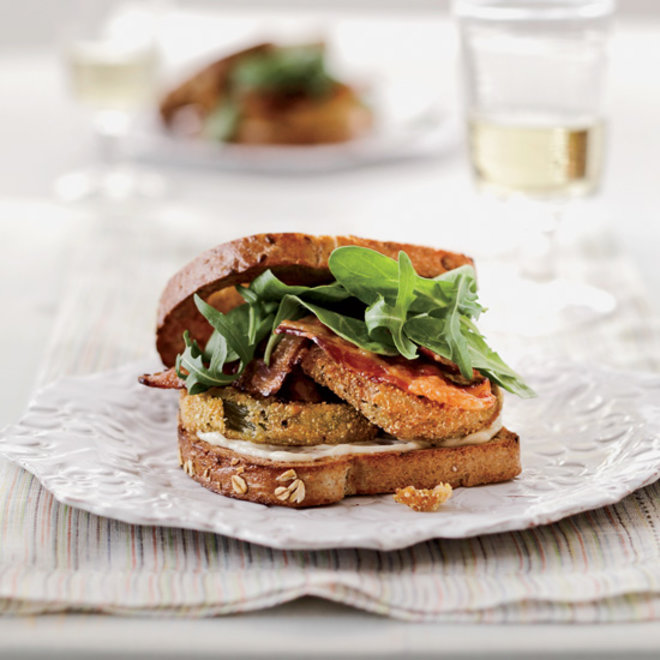 Food & Wine: Fried Green Tomato BLT