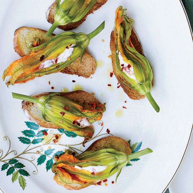 Food & Wine: 6 Ways to Cook with Zucchini Blossoms