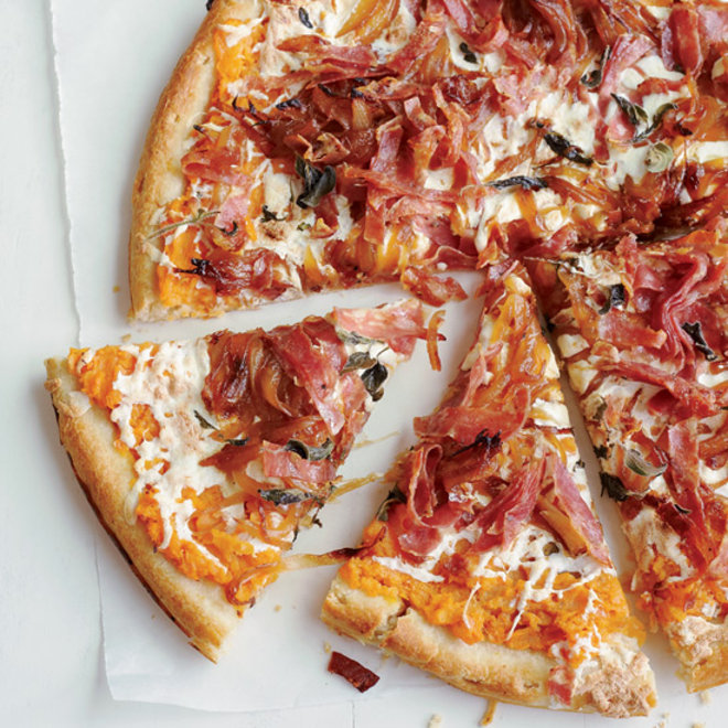 Food & Wine: Sweet Potato Pizza