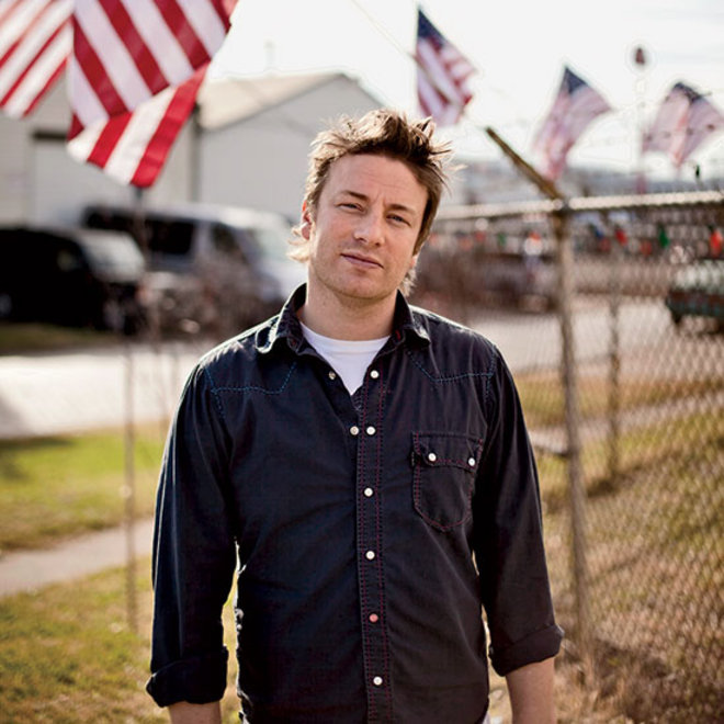 Food & Wine: Jamie Oliver's Strategies for Saving the World and Eating Better in 2014